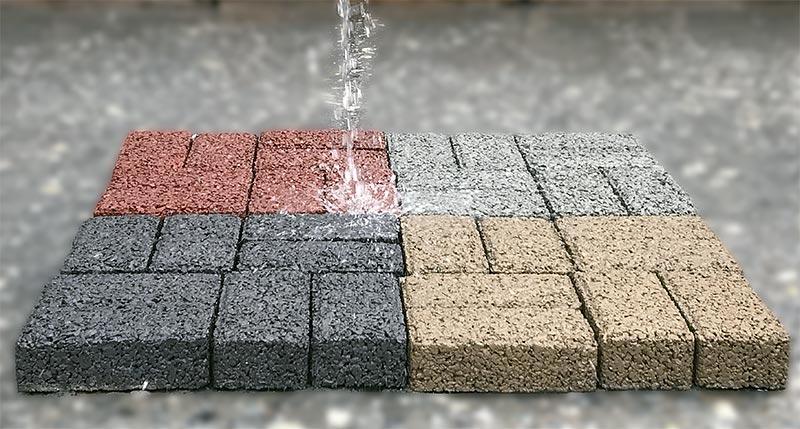 solução para pátios inundados